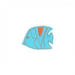 Vitorlás hal - kék