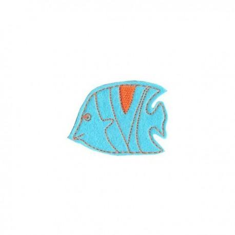 Bannerfish - blue