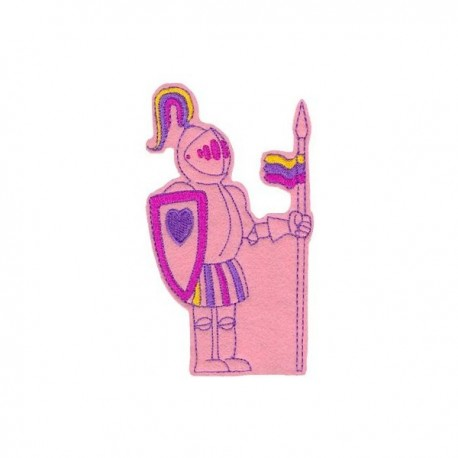 Lovag - rózsaszín