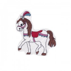 Circus horse - white