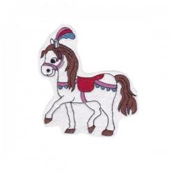 Cirkuszi ló - fehér