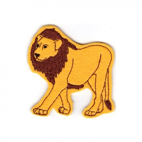 Circus lion - male