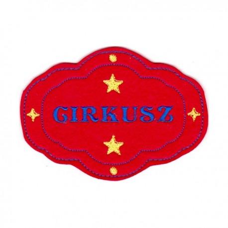 Cirkusz felirat