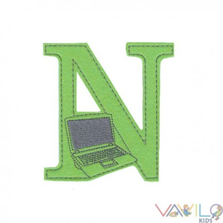 N, mint Notebook