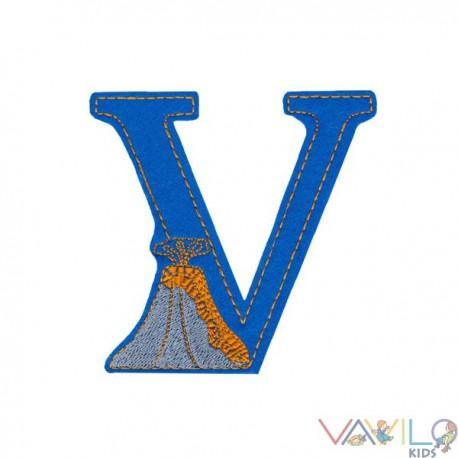 V, mint vulkán