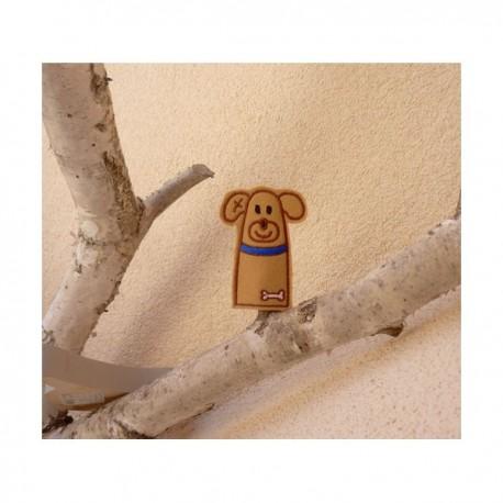 Doggie finger puppet