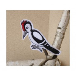 Woodpecker finger puppet