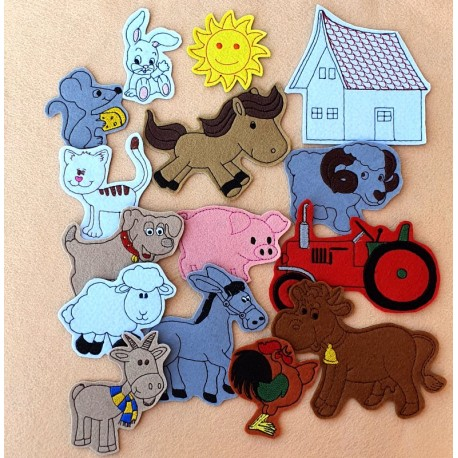 Package of Farm - 15 pieces