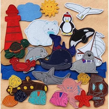 Package of Sea - 30 pieces