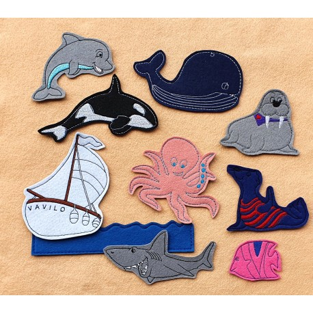 Package of Sea - 15 pieces