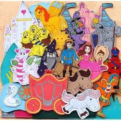 Királyság csomag - 30 darab figura