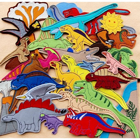 Dinosaurs package - 30 pieces