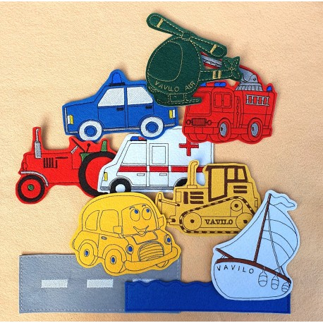 Package of Vehicles - 15 pieces
