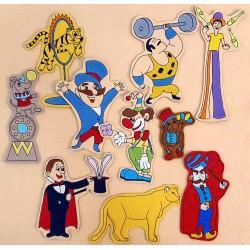 Cirkusz csomag - 10 darab figura