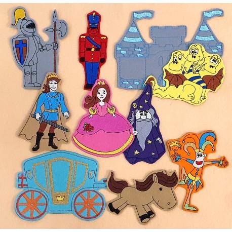 Királyság csomag fiúknak - 15 darab figura